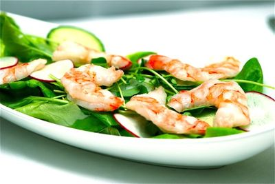 The Wildflower White Prawns
