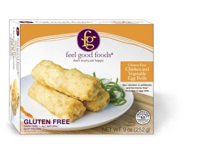 gluten free vegetable eggrolls