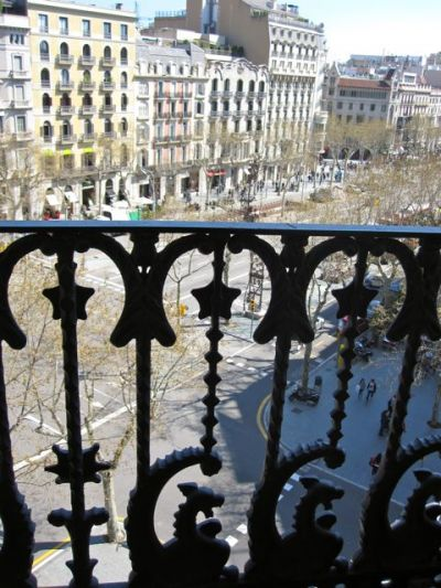 Barcelona Condes Hotel Balcony View