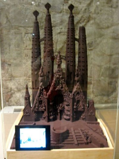 chocolate sagrada familia