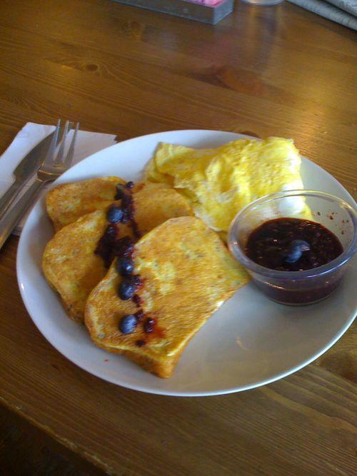 Petit Cafe gluten-free french toast