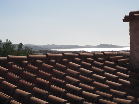 Sardinia Hotel Window View