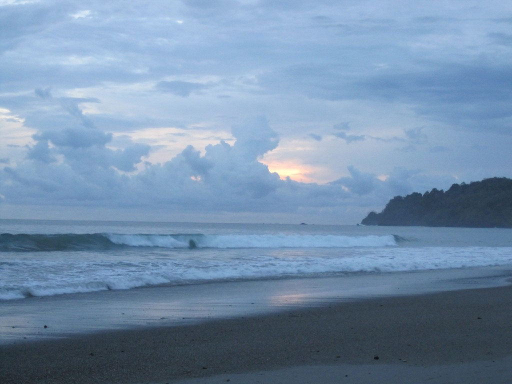 Gluten-Free Costa Rica Beach Sunset