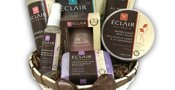 Eclair Naturals: And The Winner Of The Gift Basket Is…